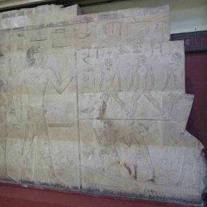 エジプト考古学博物館~ラーホテプとネフェルトのレリーフその②~