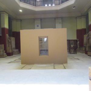 エジプト考古学博物館~ありし日のセンウセルト1世展示室~