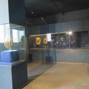 昨日のエジプト考古学博物館・書記の像が!
