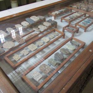エジプト考古学博物館~お菓子の型みたいなスタンプ~