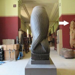 エジプト考古学博物館~ペラペラから立体になった像~