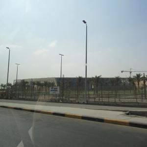 建設中の大エジプト博物館