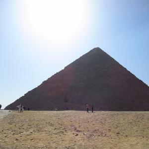 10月のギザのピラミッド~クフのピラミッド周辺の石畳など~