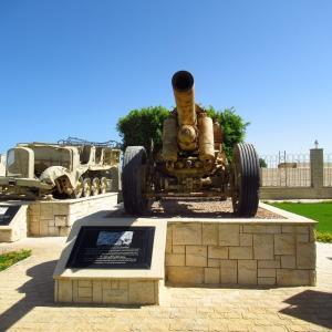 エルアラメイン軍事博物館屋外展示エリアその2