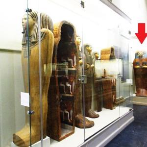 エジプト考古学博物館~新しい展示になっていたネシコンスの棺~