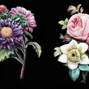 ルドゥーテのお花の作品~😃🎶