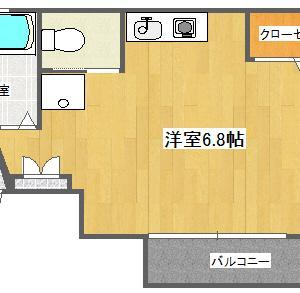 【賃貸住居】メゾンド江戸川橋202号室