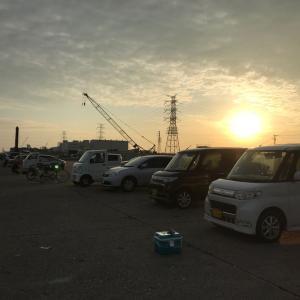 遠征!!富津にまたまたアジ釣りへ。。じょんていらーの釣日記(Vol.291)富津新港2019.10.04