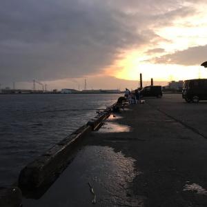 遠征!富津新港にアジ釣りへ。。じょんていらーの釣日記(Vol.277)富津新港 2019.09.05