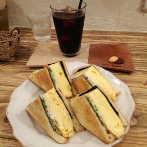 mon chouchou(モンシュシュ)の卵サンドがめっちゃ食べごたえあり!( ゚Д゚)