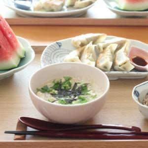 横浜・公珠の餃子 de 朝ごはん