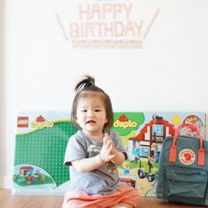 1歳~♪はなちゃん、おめでとう!