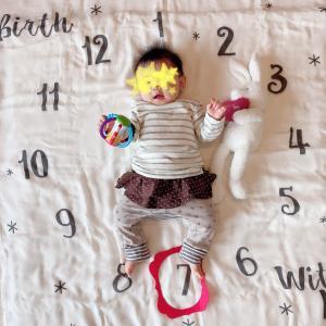 娘7ヶ月♡成長の記録