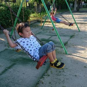 暑すぎる!!!公園は蚊地獄