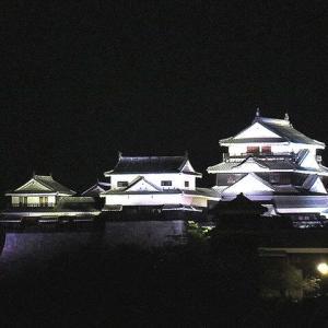 伊豫松山城・日本夜景遺産に認定された
