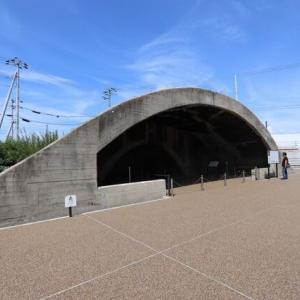 旧海軍松山航空隊・掩体壕(戦闘機格納庫)松山市指定有形文化財に指定される