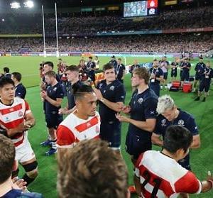 日本選手は「横並び」の日本人でなくなった  ラグビーW杯のスコットランド勝利を見て