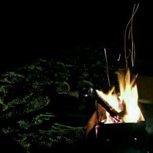 久しぶりの焚き火
