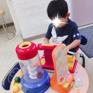 *台風接近中に小児科~喘息のお薬・手作りR-1ヨーグルト*