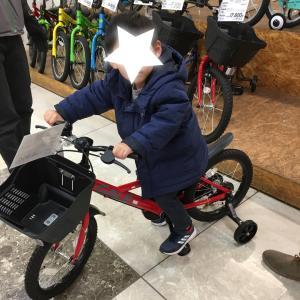 *息子の自転車下見・イオンのあそびば*