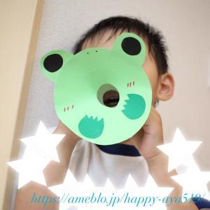 *《幼稚園》時の記念日の制作・1歳児のカラー帽姿が可愛い♡*