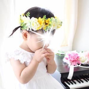 *《動画》100均の材料で手作り花かんむり♡作り方*