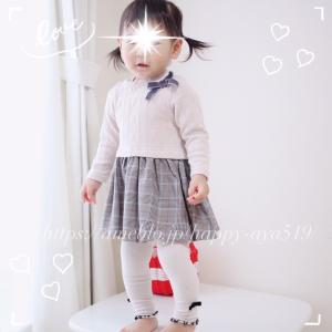 ❁プティマイン購入品♪到着レポ・秋の娘コーデ♡*。゚❁