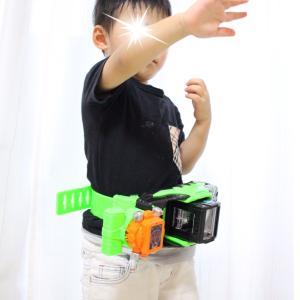 *3歳で2つ目の仮面ライダー変身ベルト*