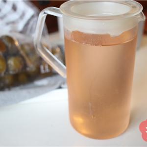 ジップロック×冷凍庫で作った梅シロップ。5日で梅ジュースを楽しめました!