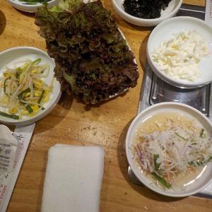 ソウル1日目の夕食は・・・