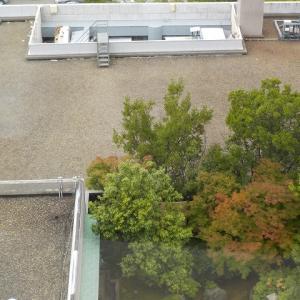 金沢、ホテルの窓から・・・ANAクラウンプラザ