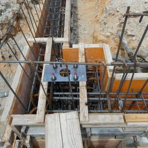 基礎工事から鉄骨建て方