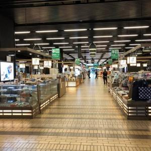 越後湯沢駅中雁木どうり