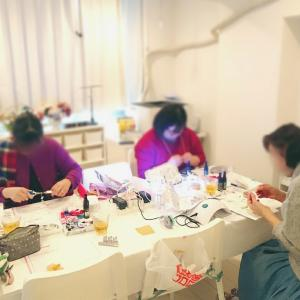 浅草橋のレジンアクセサリー教室は月に1回♪【スキルアップ講座】