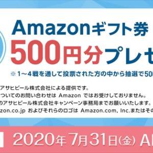 【贅沢搾り&ICEBOX】Amazonギフト券500円分が500名に当たる!キャンペーン