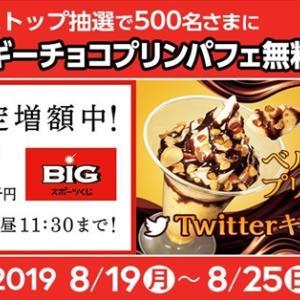 500名にベルギーチョコプリンパフェ無料券が当たる!Twitterキャンペーン