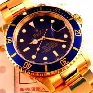 五桁の金無垢青サブ16618について。