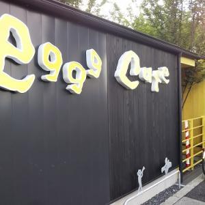 小平で行列が eggg  Cafe  小平本店 『ブリュレフレンチトースト&ブルーベリーパンケーキ』