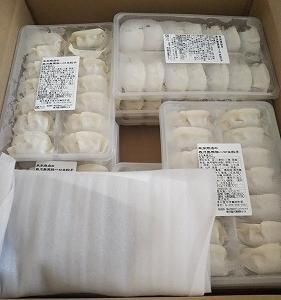 どんどん食べてしまう ふるさと納税 鹿児島県日置市 『黒豚一口生餃子』
