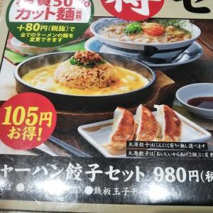 チャーハンもお忘れなく 丸源ラーメン 『熟成醤油 肉そば チャーハン餃子セット』