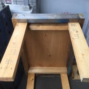 工作台の改造/レイアウト台枠の試作