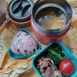 バイト10日目、スープジャーには鍋キューブ
