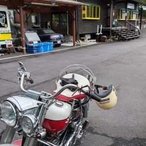 SNSにて自動車評論家の西川 淳さんが、南山城村の「カフェセブン」に来ている事を知り、
