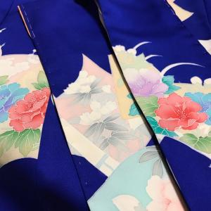形見のお着物 スケール1/3 素縫いおわり