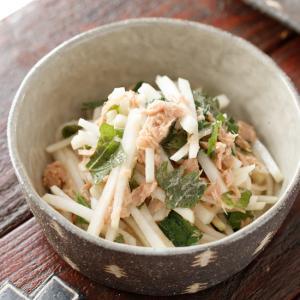 大根とツナのポン酢サラダ【#簡単 #時短 #節約 #スピードおかず #和えるだけ #副菜】