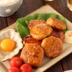 むね肉と豆腐のふわふわつくね【#作り置き #お弁当 #冷凍保存 #コスパ最強 #2人で250円
