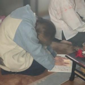 本日、命光秘流百八支祈祷不動護摩供が厳修されました。