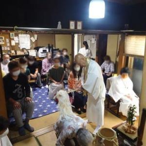 本日、命光秘流鳴釜神事祭が行われました
