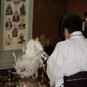 命光秘流鳴釜神事祭が厳修されました