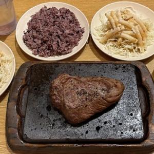 やっぱりステーキ(๑´ڡ`๑)